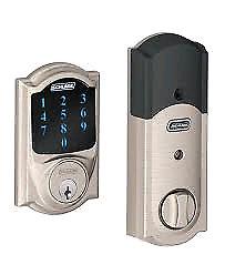 schlage deadbolt security lock z wave technology only 110$