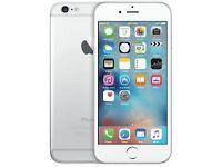 iPhone 6 silver 16gb unlocked
