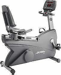 Life Fitness 95Ri Commercial Recumbent Bikes-GREAT SHAPE