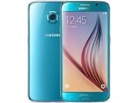 "Samsung Galaxy S6 32GB Topaz Blue Unlocked ""RARE COLOUR"""