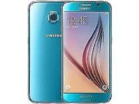 Samsung Galaxy S6 Blue Topaz Unlocked