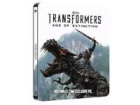 Transgormers Age of Extinction 3D bku ray Steelbook
