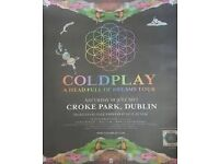 Swap 4 Sitting Coldplay Tickets For 3/4 Standing Tickets - 8th July - Croke Park, Dublin