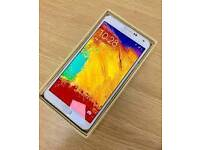 Samsung galaxy note 3 32gb factory unlocked good used condition boxed