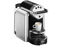 Nearly new Nespresso Pro Zenius machine, great condition (unwanted gift)