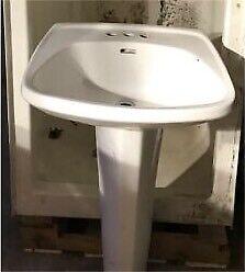 Shower & pedestal sink!! (Shower SOLD!!)