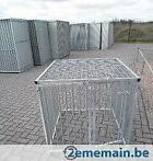 Cage chien indestructible cage barreaux solide cage XXL