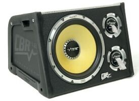 """Vibe 12"""" sub with built in amp"""