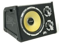 "Vibe 12"" sub with built in amp"