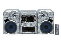 Panasonic NITRIX SC-AK320 CD Stereo Hi-Fi 5 CD changer/AUX/Tape
