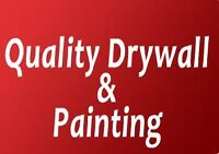 Need Painting & Drywall Done? Professional Workmanship