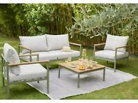 Akoa Metal 4 seater Coffee set - Garden Furniture Set