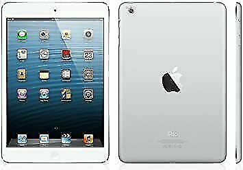 Apple iPad mini 2 128GB, Wi-Fi + Cellular (Unlocked), 7.9in - Silver MF121LL/A
