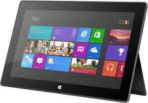 "Microsoft surface RT 32 GB 12"" screen tablet mint"