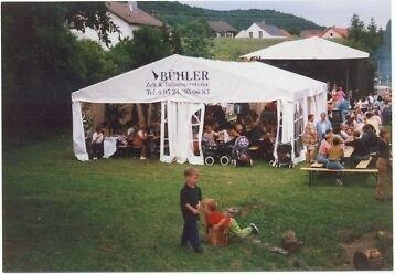 Partyzelt-Festzelt-Bierzelt-Zelt-Lagerzelt 8x12/2,38m