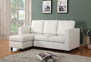 FREE Delivery in Ottawa! Small Condo Apartment Sized Sectional Sofa! NEW!