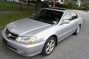 """SOLD PENDING PICKUP"" 2002 Acura TL-S 4 door coupe"