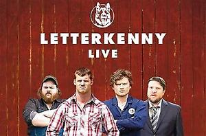 LETTERKENNY - FRONT ROW SEATS