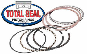 "S/B CHEV V8 TOTTAL SEAL PISTON RINGS 4""BORE =NEW"