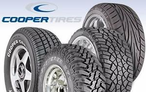 COOPER TIRES - BEST PRICES IN TOWN @ SCOTT'S AUTOMOTIVE