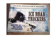 Ice road truckers DVD Box Set Season 1-3. 10 discs