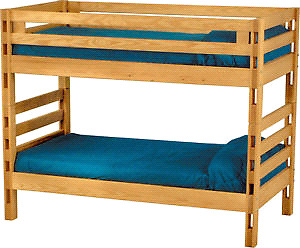 Crate Design Bunk Bed
