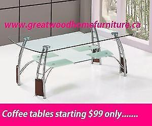 BRAND NEW MODERN COFFEE TABLES STARTING $99 ONLY