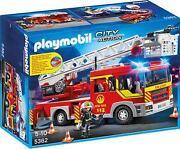 Playmobil Feuerwehr Leiterwagen