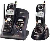 BRAND NEW PANASONIC CORDLESS ALSO HAVE USED PHONES FOR SALE