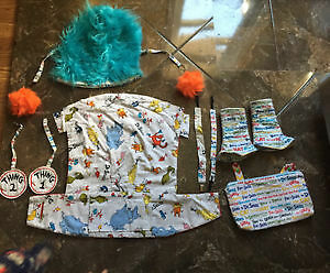 Dr seuss standard Tula cover set and accessories