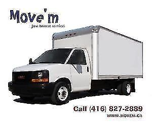 MOVEM Reliable Movers & Pickup Delivery. Short Notice OK