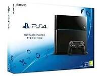 Sony PlayStation 4 Ultimate Player Edition (CUH-1116B) 1TB Jet Black Console