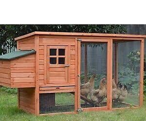 Chicken/chuck coop/cage/hutch wooden Scoresby Knox Area Preview