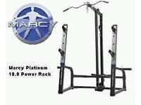 Marcy Platinum 10.0 Power rack & Weights bench TnP accessories Flat,incline,decline..