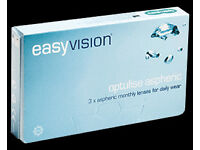 Contact Lense - Monthly Disposable x3 pairs - Specsavers easyvision optulise aspheric