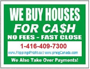 Windsor region CASH for your House, Fast Closing Windsor Region Ontario image 1