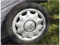 Mercedes A Class wheel with Brand New Hanook tyre!