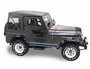 1974 Jeep Cj5 Soft Top - Cj Soft Top - 1974 Jeep Cj5 Soft Top