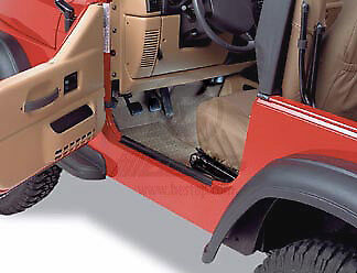 Bestop Door Sill - Door Sill Entry Guard fits Jeep CJ7 & YJ Wrangler 1976-1995 Bestop