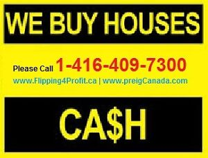 We buy Timmins Houses for Cash