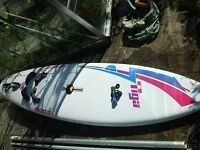 Windsurfing Equipment - Board mast sails and assecories