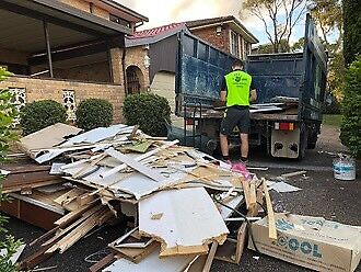 RUBBISH REMOVAL AND CLEANING
