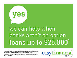 EasyFinancial: We say YES when the Banks say NO!