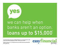 Loans from $500-$15,000