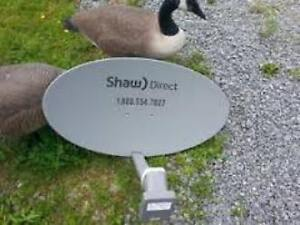 Low income senior looking for a new SHAW Satellite Dish