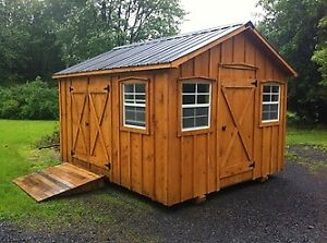 Amish built custom sheds!