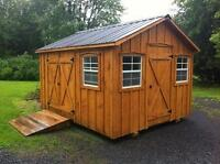 Built to suit Amish made sheds, gazebos, and more!