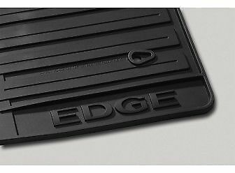 2007 2008 2009 2010 FORD EDGE OEM FACTORY ALL WEATHER VINYL BLACK FLOOR MATS