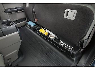 2015-2019 Ford F-150 Cargo Under-Seat Organizer, Super and Crew Cab (Black Crew Cab Models)