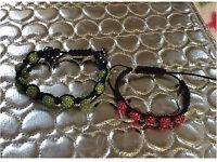2 shamballa bracelets